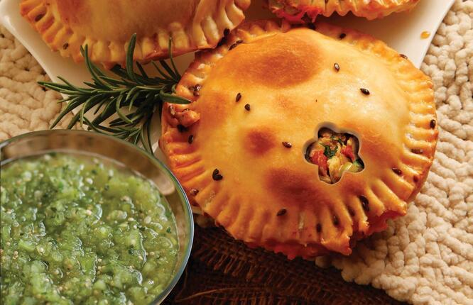 Tupperware Pastel de Pollo con Salsa Verde